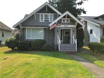 Tacoma Single Family Home For Sale: 3626 Fawcett Ave