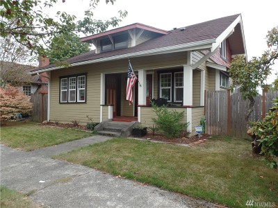 Chehalis Single Family Home For Sale: 234 SW Lewis St