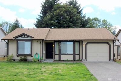 Olympia Single Family Home For Sale: 925 Schonberg Lane SE