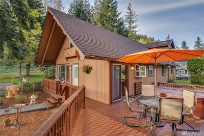 North Bend, Snoqualmie Single Family Home For Sale: 7504 434th Ave SE