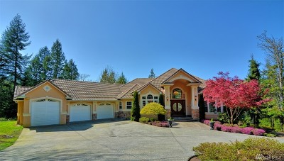 Mount Vernon Single Family Home Contingent: 22410 McMurray Shore Dr