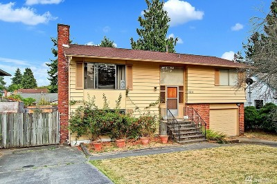 Seattle Single Family Home For Sale: 10214 38th Ave SW