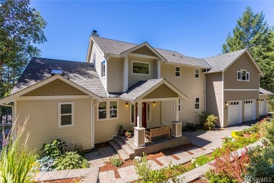 Olympia Single Family Home For Sale: 5409 Brenner Rd NW