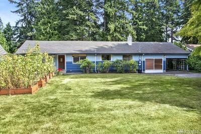 Edmonds Single Family Home For Sale: 22215 96th Ave W