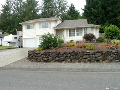 Chehalis Single Family Home For Sale: 134 Jackson View Dr