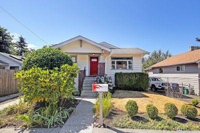 Seattle Single Family Home For Sale: 8141 16th Ave SW