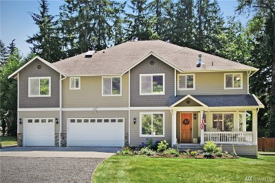 Snohomish Single Family Home For Sale: 13517 Lost Lake Rd