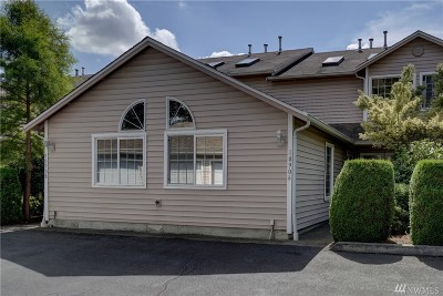 Puyallup Condo/Townhouse For Sale: 10906 63rd St E