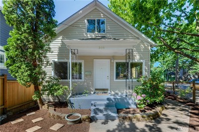 Seattle Single Family Home For Sale: 305 27th Ave S