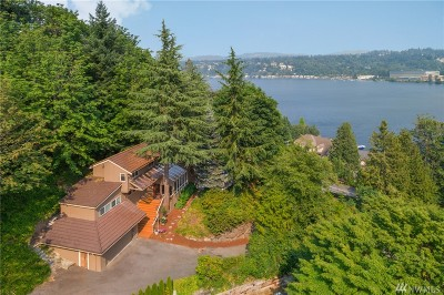 Mercer Island Single Family Home For Sale: 7255 E Mercer Wy