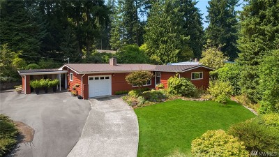 Issaquah Single Family Home For Sale: 525 Mt. Hood Dr SW