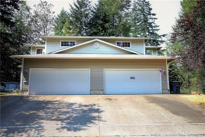 Puyallup Multi Family Home For Sale: 16410 130th Av Ct E