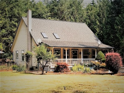 Napavine Single Family Home For Sale: 282 Woodard Rd