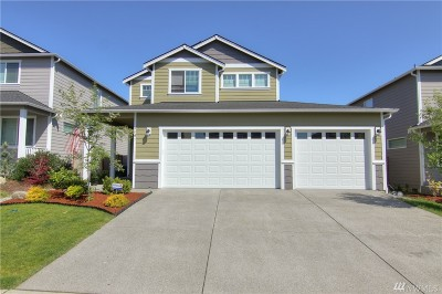 Spanaway Single Family Home For Sale: 2107 197th St Ct E