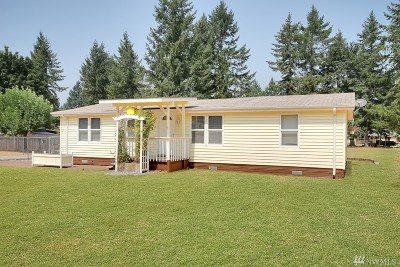 Spanaway Single Family Home For Sale: 3517 250th St Ct E