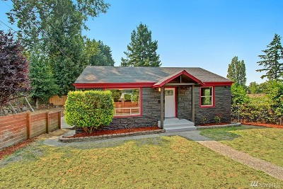 Seattle Single Family Home For Sale: 7217 S 116th St