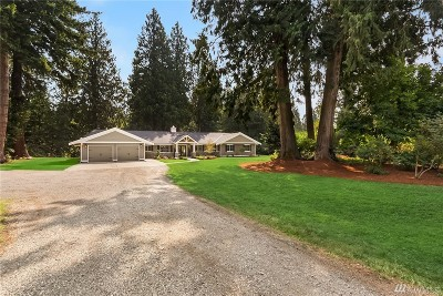 Woodinville Single Family Home For Sale: 14620 Bear Creek Rd NE