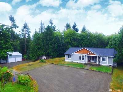 Tenino Single Family Home For Sale: 1415 Wright Rd SE