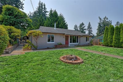 Everett Single Family Home For Sale: 214 50th St SW