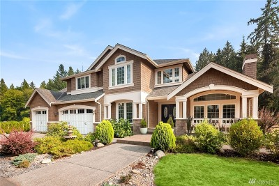 Woodinville Single Family Home For Sale: 22607 NE Woodinville-Duvall Rd