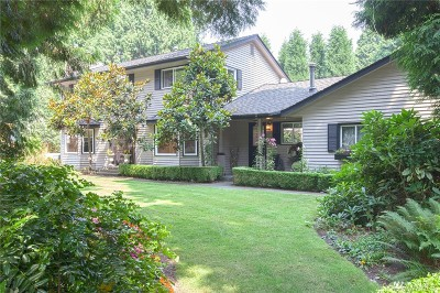 Bothell Single Family Home For Sale: 12806 NE 185th Ct