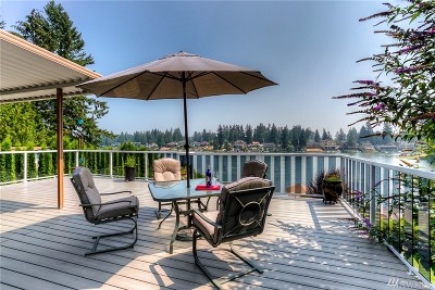 Bonney Lake Single Family Home For Sale: 20640 Church Lake Dr E