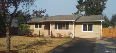 Puyallup Single Family Home For Sale: 15311 121st Av Ct E
