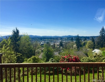 Olympia Single Family Home For Sale: 1609 7th Ave SE
