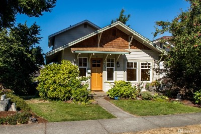 Bellingham WA Single Family Home For Sale: $700,000