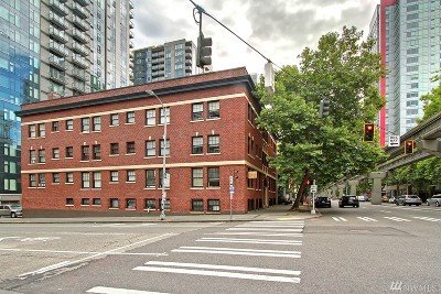 Seattle Condo/Townhouse For Sale: 2132 5th Ave #009