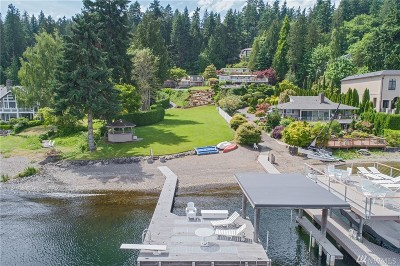 Bellevue Single Family Home For Sale: 1864 W Lake Sammamish Pkwy SE
