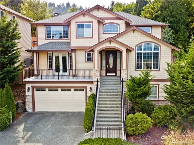 Issaquah Single Family Home For Sale: 1745 Pine View Dr NW