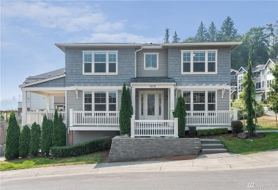 Issaquah Single Family Home For Sale: 2678 NW Pine Cone Place