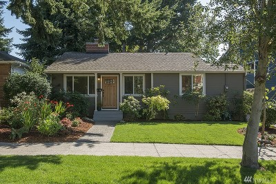 Seattle Single Family Home For Sale: 6710 23rd Ave NW