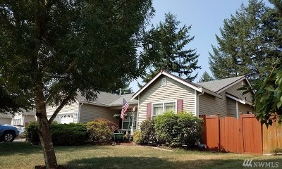 Spanaway Single Family Home For Sale: 21506 47th Ave E