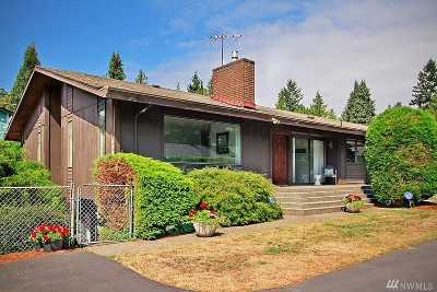 Seattle Single Family Home For Sale: 1912 NE Northgate Wy