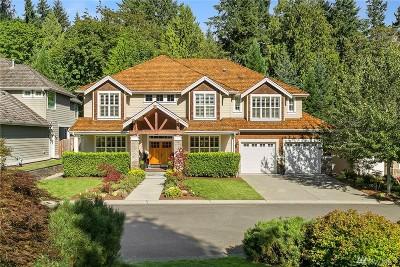 Sammamish Single Family Home For Sale: 3828 212th Ave SE