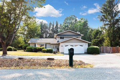 Bellingham Single Family Home For Sale: 6491 Old Guide Rd