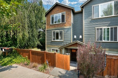 Seattle Single Family Home For Sale: 10544 Midvale Ave N #C