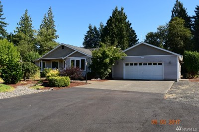 Chehalis Single Family Home For Sale: 167 Leudinghaus Rd