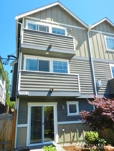 Seattle Single Family Home For Sale: 11014 Greenwood Ave N #C