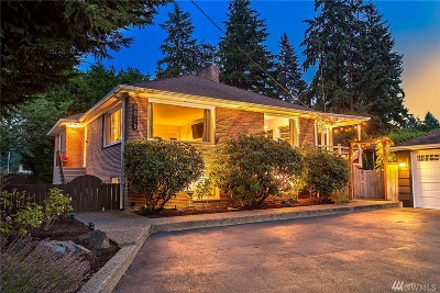 Edmonds Single Family Home For Sale: 8810 Main St