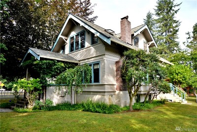 Snoqualmie Single Family Home For Sale: 38460 SE Fir St