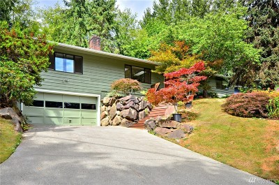 Kenmore Single Family Home For Sale: 6632 NE 196th St
