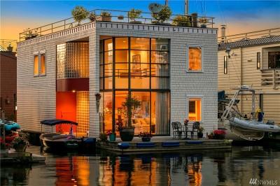 Seattle Single Family Home For Sale: 10 E Roanoke St #13