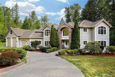 Carnation Single Family Home For Sale: 6009 Ames Lake-Carnation Rd NE