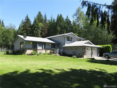 Arlington Single Family Home For Sale: 17309 McElroy Rd