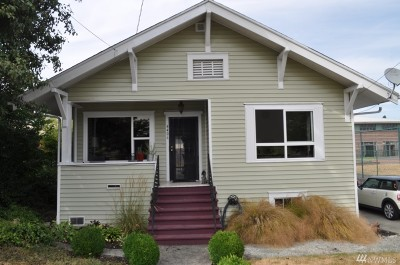 Seattle Single Family Home For Sale: 4406 S Willow St