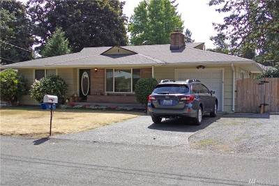 Lakewood Single Family Home For Sale: 8424 Mt Tacoma Dr SW