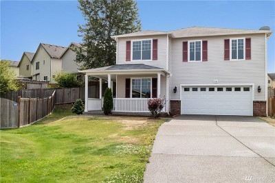 Puyallup Single Family Home For Sale: 9722 183rd St Ct E